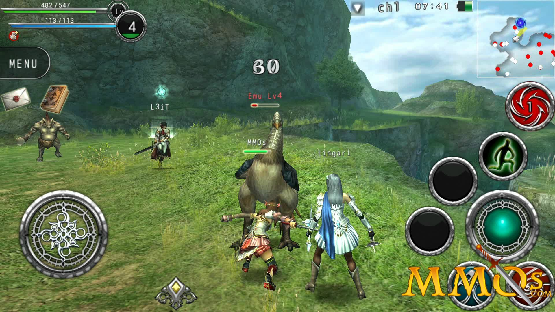 Start earning money by playing MMO games on android